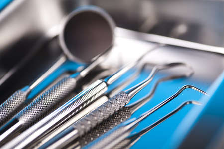Close-up Dental Instruments Stock Photo - 13502906