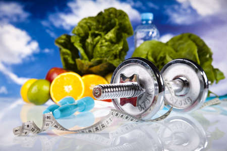 Food and measurement, fitness Stock Photo - 13502727