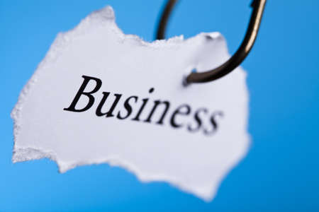 color image fish hook: Business Stock Photo