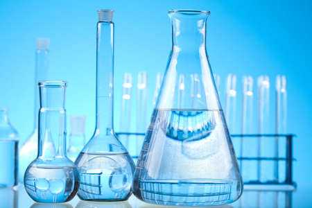 Sterile conditions, Laboratory glass Stock Photo - 13501934