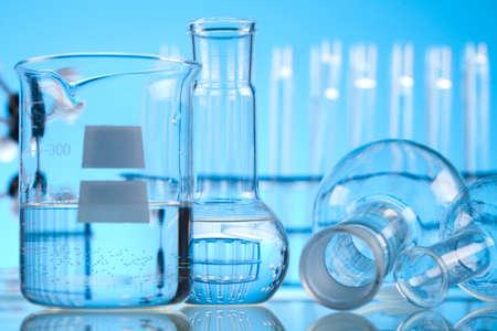 drug discovery: Laboratorio di vetro
