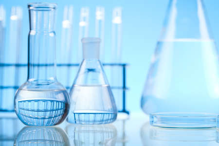 Pharmaceutical research: Laboratory glass