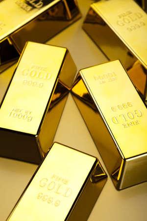 goldbars: Gold background Stock Photo