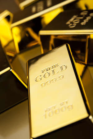 Gold bullion photo