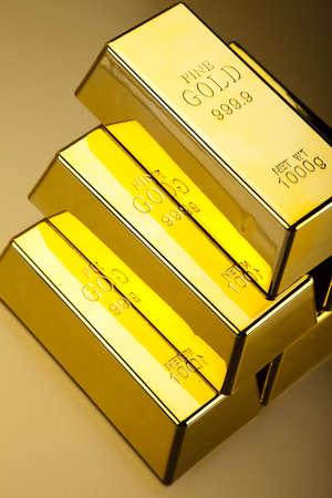 goldbars:  Gold Pyramid Stock Photo