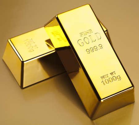 De lingotes de oro Foto de archivo - 13329854