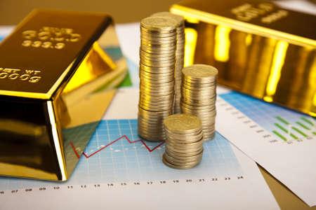 lingotes de oro: Las monedas y los lingotes de oro, Concepto de Finanzas