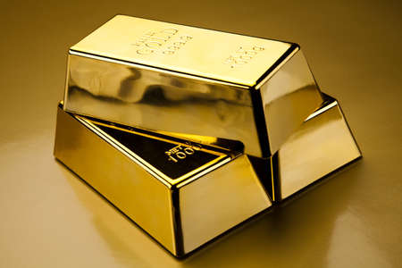 Gold bullions photo