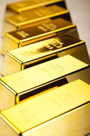 Gold bars  Stock Photo - 13329918