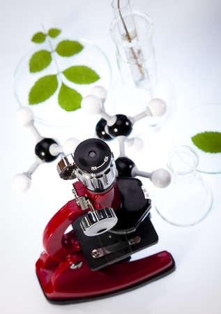 Microscope Stock Photo