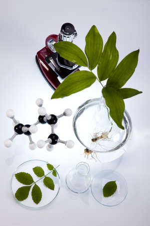 Chemical laboratory glassware equipment, ecology  photo