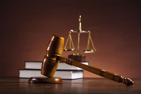 Justice Scale and Gavel Stock Photo - 14232042