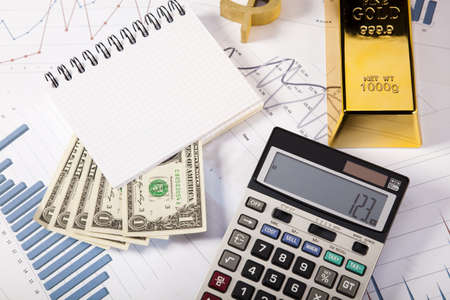 Gold value Stock Photo - 14219166