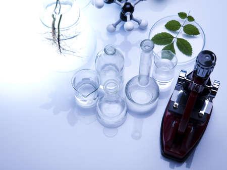 pipeptte: Eco laboratory  Stock Photo