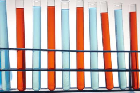 reaction: Test tube, chemical