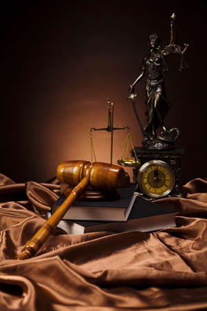 legally: Judges wooden gavel