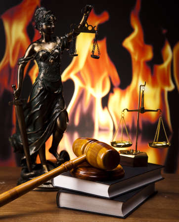 order in the court: Justicia concepto