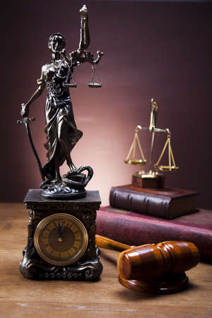 Statue of lady justice Stock Photo - 14218608