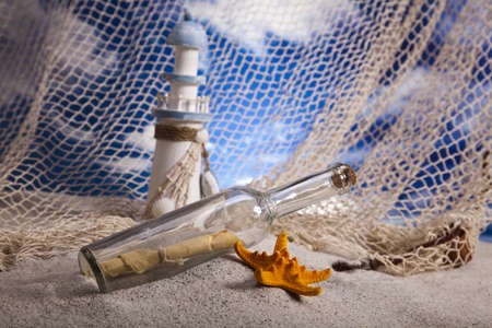 Message in a bottle Stock Photo - 14218698