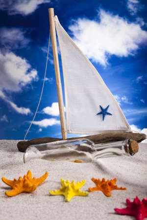 Holiday, summer, beach Background photo