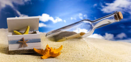 Message in a bottle Stock Photo - 14218407