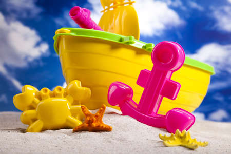 Toys for the beach Stock Photo - 14218476