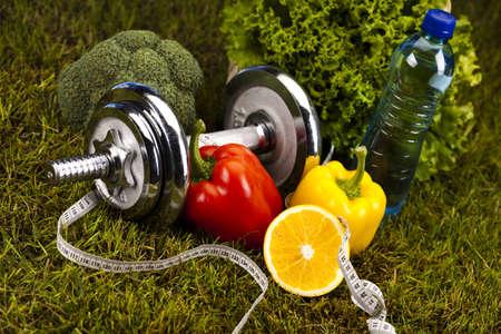 Fitness and vitamins photo