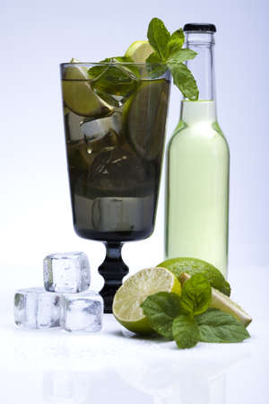 Fresh mojito drink photo