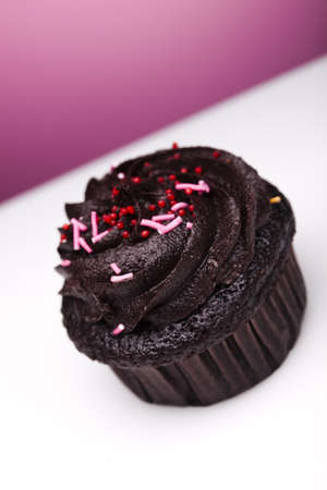 Sweet muffin cake photo