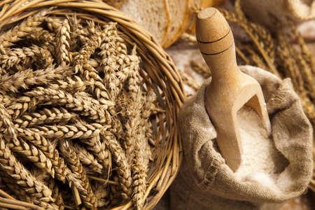 Baking goods, bread Stock Photo