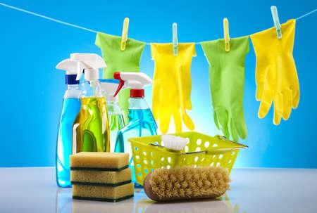 d�sinfectant: Produit de nettoyage de maison Banque d'images