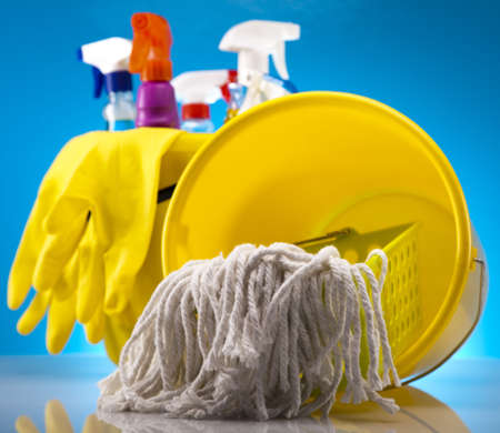 Cleaning products Stock Photo - 16154585