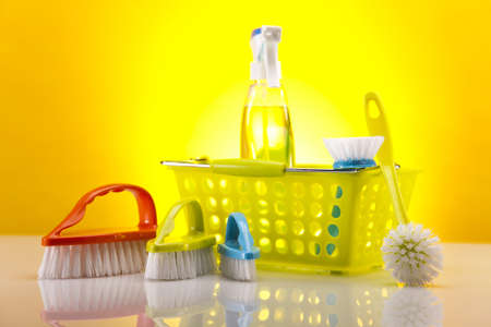 Cleaning products Stock Photo - 16154582