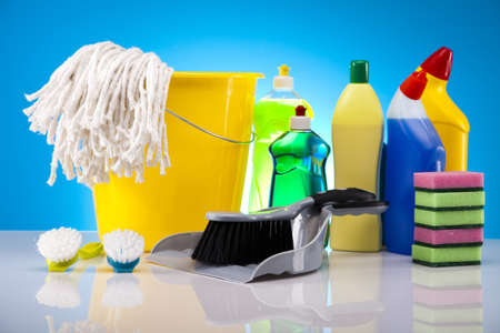 Cleaning supplies photo