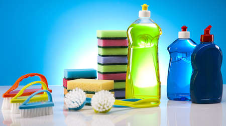 Cleaning products Stock Photo - 16154555