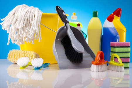 Cleaning products Stock Photo - 16154566