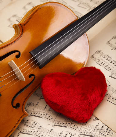 Valentine violin photo