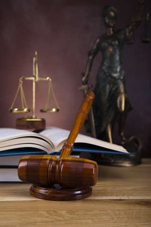 Antique statue of justice, law Stock Photo - 16167811