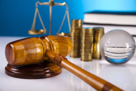 Justice concept and money Stock Photo - 16167843