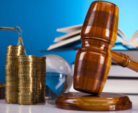 Justice concept and money Stock Photo - 16167742