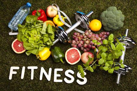Healthy lifestyle concept, vitamins Banque d'images