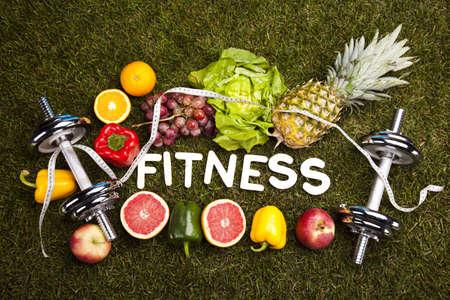 alimentacion sana: Concepto de estilo de vida saludable, vitaminas
