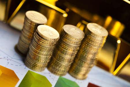Finance Concept, coins Stock Photo - 17487317