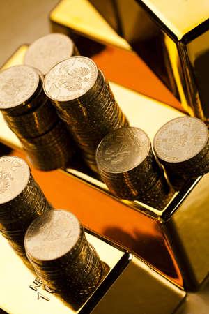 goldbars: Gold bullions Stock Photo