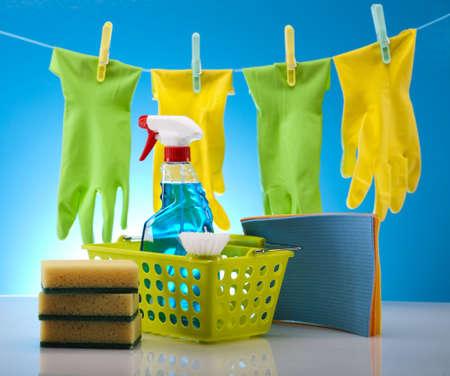 limpieza del hogar: Los productos de limpieza