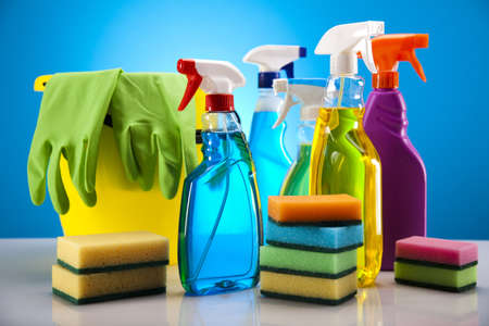 Group of assorted cleaning  Stock Photo - 17487467