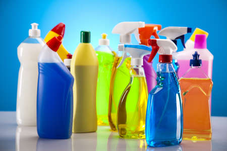 Group of assorted cleaning  Stock Photo - 17487153
