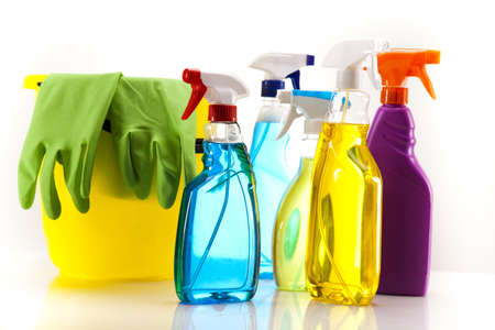 up service: Assorted cleaning products