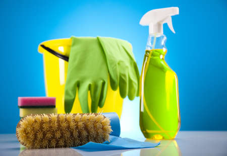 Cleaning supplies Stock Photo - 17486932