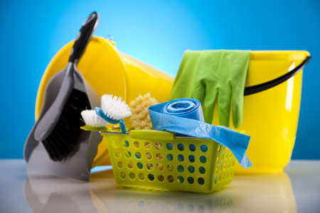 Variety of cleaning products Stock Photo - 17487044